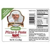 Chef Paul Pudhommes Herbal Pizza & Pasta Magic - 3 lb. package, 1 per case