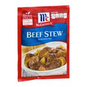 McCormick Beef Stew Seasoning Mix, 1.5 Ounce -- 12 per case.