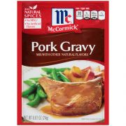 McCormick Pork Gravy Mix, 0.87 Ounce -- 12 per case.