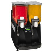 Bunn O Matic ULTRA-2 Black/Stainless Gourmet Ice System with 2 Hopper - 120 Volt, 31.9 x 16 x 24.5 inch -- 1 each.