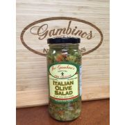 Gambinos Italian Olive Salad, 16 Fluid Ounce -- 6 per case.