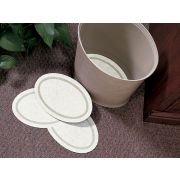 Hoffmaster 900-LD10 Specialty Lodging Printed Regal Small Oval Guest Room Amenities Basket Liner, 6 x 9 inch -- 2000 per case.