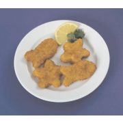 SeaFit Star and Fish Shaped Breaded Fish Nugget, 1 Ounce of 155-160 Pieces, 10 Pound -- 1 each.