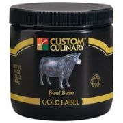 Custom Culinary Gold Label Beef Base, 50 Pound -- 1 each.