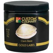 Custom Culinary Gold Label Clam Base, 50 Pound -- 1 each.