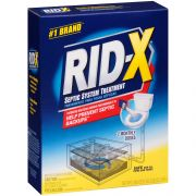 Reckitt Benckiser Rid X Septic Tank System Treatment - Concentrated Powder, 20.7 Ounce -- 6 per case.