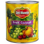 Del Monte Fruit Cocktail in Extra Light Syrup, 105 Ounce Can -- 6 per case.