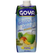 Goya Coconut Water with Mango, 17.64 Ounce -- 12 per case.