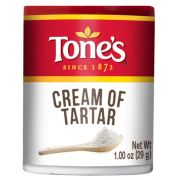 Tones Cream of Tartar - 1 oz. jar, 144 per case