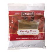 Royal Chocolate Mousse Mix, 16 Ounce -- 6 per case.