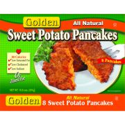 Old Fashioned Kitchen Golden Sweet Potato Pancake, 1.33 OUNCE -- 96 per case.