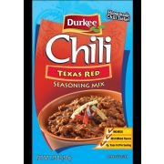 Durkee Texas Red Chili Seasoning - 1.75 oz. packet, 18 per case