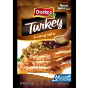 Durkee Turkey Gravy Mix,  .875 Ounce --- 24 Per Count