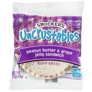 Smuckers Uncrustables Peanut Butter and Grape Jelly Sandwich, 2 Ounce -- 90 per case.