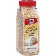 McCormick Chopped Onion, 15.5 Ounce -- 12 per case.
