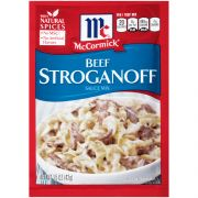 Mccormick Beef Stroganoff Sauce Mix, 1.5 Ounce -- 12 per case.