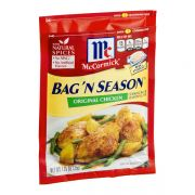 Mccormick Bag N Season Original Chicken Seasoning Mix, 1.25 Ounce -- 6 per case.