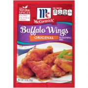 McCormick Original Buffalo Wings Seasoning Mix, 1.6 Ounce -- 12 per case.