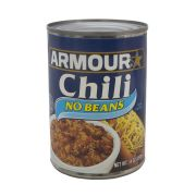 Armour No Beans Chili, 14 Ounce -- 12 per case.