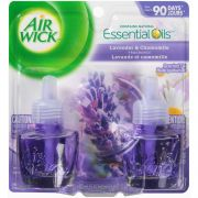 Air Wick Scented Oil Refill, Lavender & Chamomile, .67oz, 2/Pack