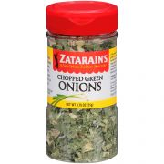 Zatarains Chopped Green Onions, 0.75 Ounce -- 12 per case.