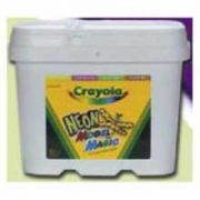 Crayola Model Magic Neon Color Assortment Resealable Bucket, 2 Pound -- 2 per case.