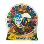 Crayola Telescoping Pip-Squeaks Washable Marker Tower -- 6 per case.