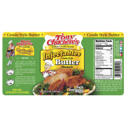 Tony Chacheres Butter Injectable Marinade, 64 Ounce -- 6 per case.