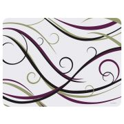 Hoffmaster Swirl Room Service Healthcare Traymat, 13 3/8 x 17 7/8 inch -- 1000 per case.