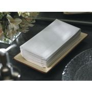 Hoffmaster Linen Like 817 White Guest Towel, 8 x 17 inch -- 600 per case.