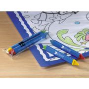 Hoffmaster Kids Double Tipped Triangular Crayon -- 1000 per case.