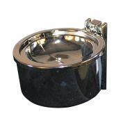 Impact Products Metal Wall Mount Ashtray, 4 inch -- 12 per case.