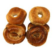 Just Bagels Assorted Sliced Bagel -- 48 per case.