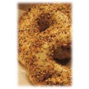 Burry Food Parbaked Everything Bagel, 4 Ounce -- 72 per case.