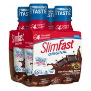 Slim Fast Rich Chocolate Royale Meal Replacement Shake, 11 Fluid Ounce -- 12 per case.