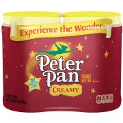 Peter Pan Creamy Peanut Butter - Twin Pack, 80 Ounce -- 3 per case.
