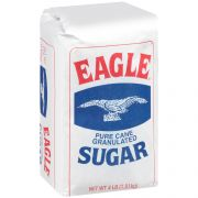 Eagle Ridge Granulated Sugar, 4 Pound -- 10 per case.