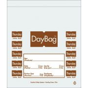 Daymark Day of the Week Portion Bag - Thursday, 5.5 x 5.5 inch -- 4 rolls per case.