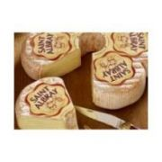 Saint Albray Flower Shaped Washed Rind Cheese, 4.4 Pound -- 2 per case.