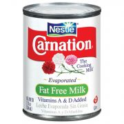 Carnation Evaporated Fat Free Milk,  12 Oz --- 24 Per Case