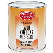Real Fresh TFF Mild Cheddar Cheese Sauce, 6.63 Pound -- 6 per case.
