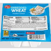 Post Shredded Wheat Frosted Cereal, 1 Ounce -- 96 per case.