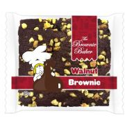 Brownie Baker Chocolate Chip Walnut Brownie, 4 Ounce -- 72 per case.
