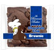 Brownie Baker Chocolate Chip Brownie, 4 Ounce -- 72 per case.