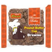 Brownie Baker Peanut Butter Brownie, 4 Ounce -- 12 per case.
