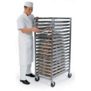 Lakeside Stainless Steel Standard Single Style End Loading Pan and Tray Rack, 17 1/4 x 20 1/4 x 58 1/2 inch -- 1 each.