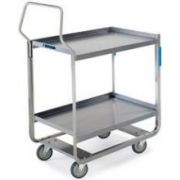 Lakeside Handler Series Stainless Steel Tough Transport NSF Utility Cart with 3 Shelves, 22 3/4 x 55 x 49 3/8 inch -- 1 each.