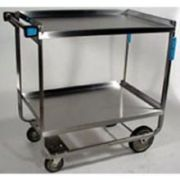 Lakeside Stainless Steel NSF Mobile Mixer Machine Stand with 2 Shelves, 33 1/4 x 25 1/4 x 29 3/16 inch -- 1 each.