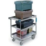 Lakeside Stainless Steel Heavy Duty NSF Traditional Utility Cart with 3 Shelves, 22 3/8 x 38 5/8 x 37 1/8 inch -- 1 each.