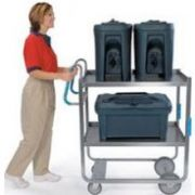 Lakeside Ergo One Series Heavy Duty Stainless Steel NSF Utility Cart with 2 Shelves, 21 5/8 x 41 3/8 x 46 3/4 inch -- 1 each.